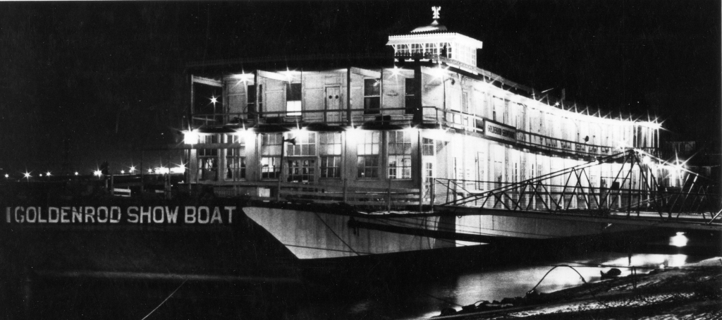 "Ok, so this is a showboat, but if you are a character in the musical ""Showboat"" this would be your house"