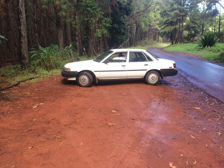 This was not the car that broke down, but it's on its way, and also needs a new head gasket!
